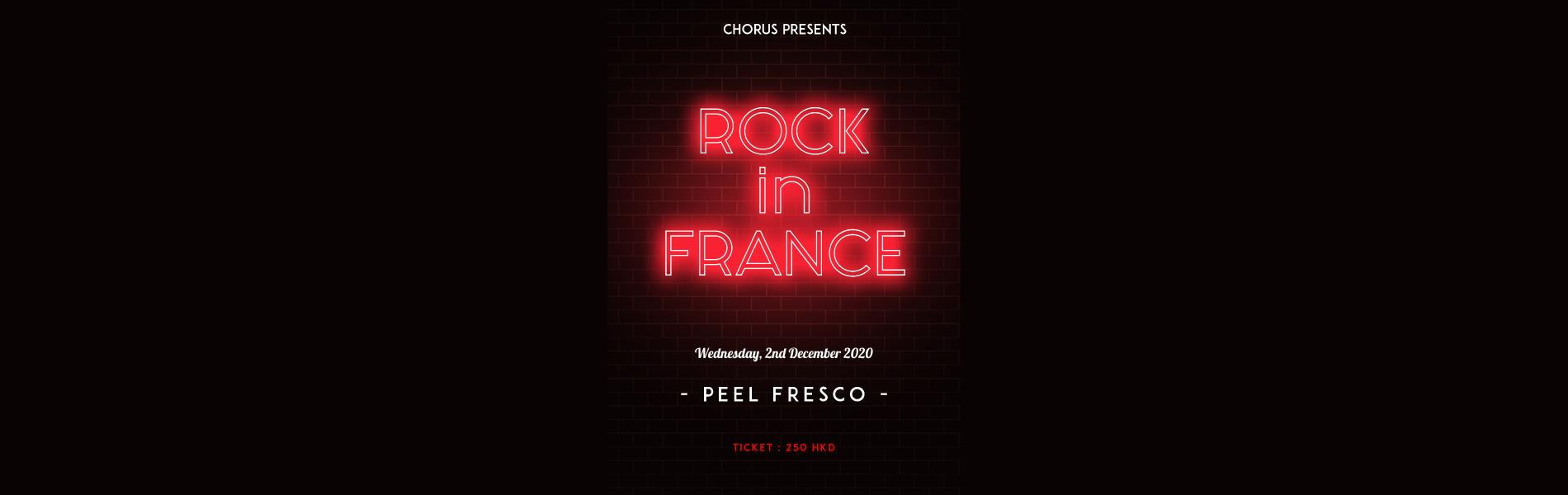 ROCK IN FRANCE