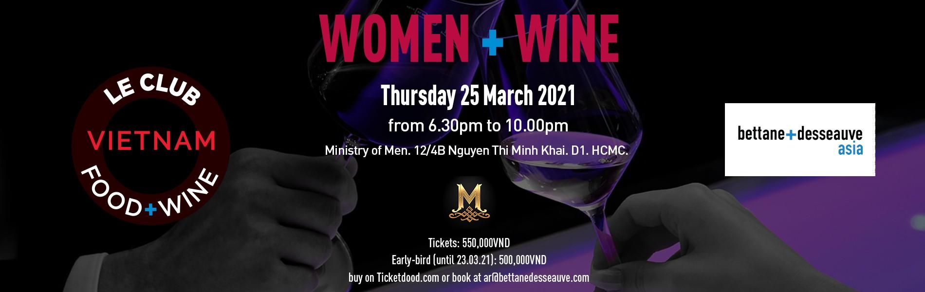 Le Club Food & WIne - Women + Wine