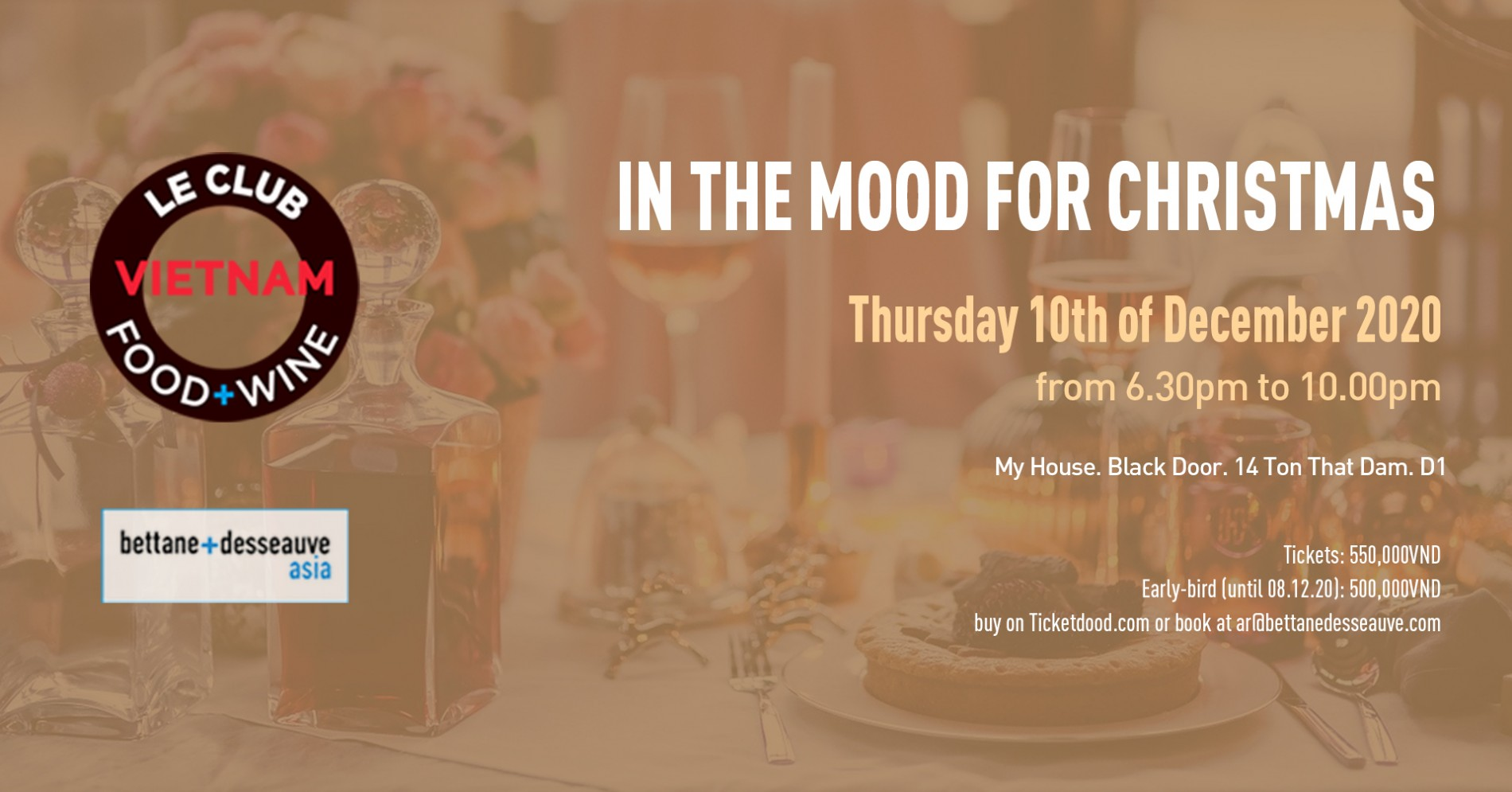 Le Club Food & Wine - In the Mood for Christmas